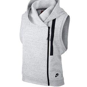 Nike Tech Fleece Summit White/Heather Black Vest